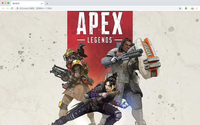 Apex英雄 游戏 高清 壁纸 流行新标签 主题
