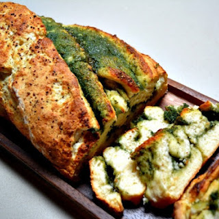 Sage, Blue Cheese and Garlic Bread