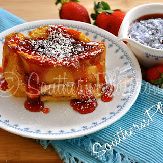 Overnight Stuffed French Toast.