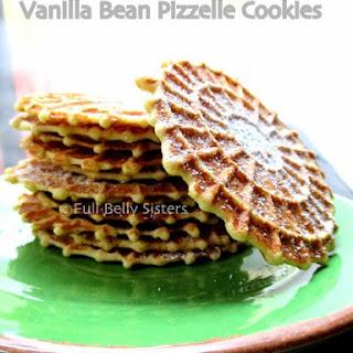 "Vanilla Bean Pizzelle ""Snowflake Cookies"""