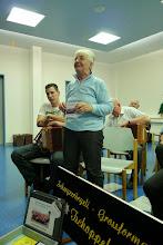 Photo: Margrit Siegrist bergrüsst die Gäste und stellt unsere Formation vor.