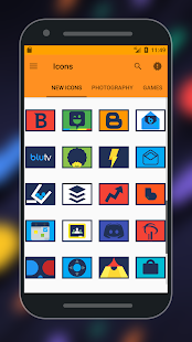 Retax - Icon pack Screenshot