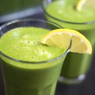 Blended Green Lemonade.