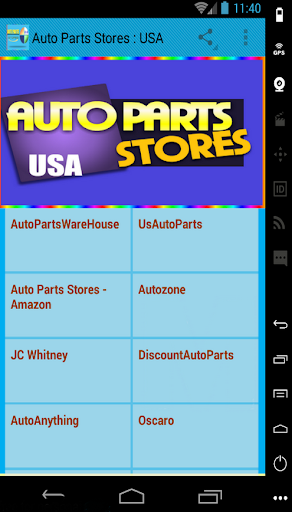 玩免費遊戲APP|下載Auto Parts Stores : USA app不用錢|硬是要APP