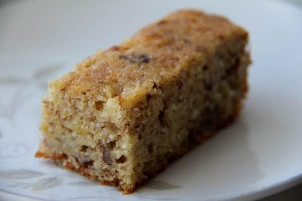 Orange-banana Bread With Pecans Recipe