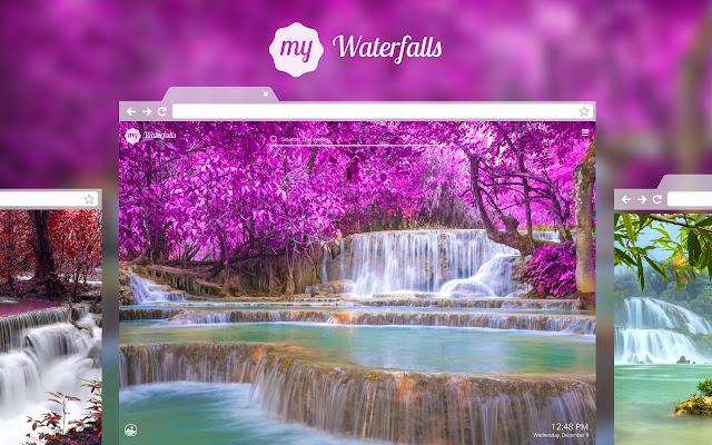 My Waterfalls HD Wallpapers New Tab Theme