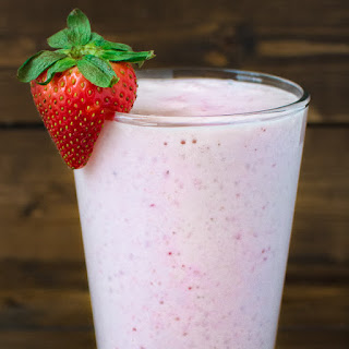 Healthy Strawberry Milkshake Recipe