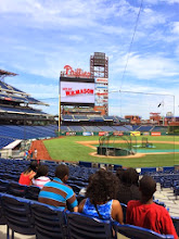 Photo: Thanks to Citizens Bank and the Philadelphia Phillies our students toured Citizens Bank Park to learn about careers in professional sports