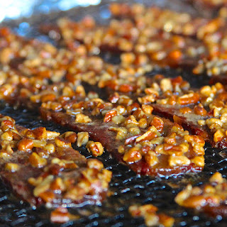 Grilled Pecan Praline Bacon