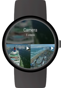 Video Gallery for Android Wear screenshot 3
