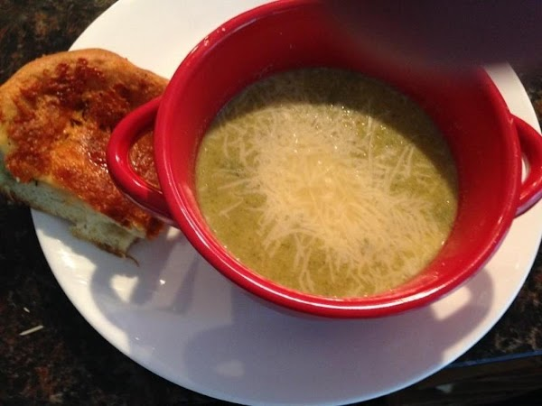 Patricia's Roasted Cream Of Broccoli Soup Recipe