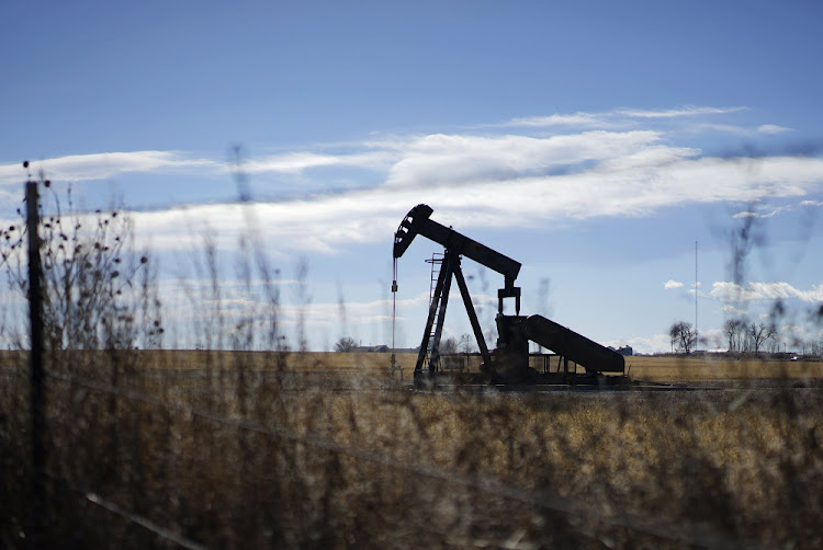 An oil well is seen near Denver, Colorado.  Picture: REUTERS