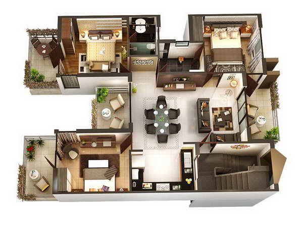 3d home designs layouts screenshot - 3d Home Design