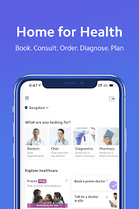 Practo – Book Doctor Appointments & Consult Online App Latest Version Download For Android and iPhone 1