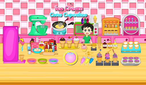 Cooking Ice Cream Cone Cupcake 10.0 screenshots hack proof 1