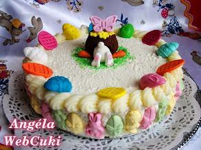 Photo: Túrókrémes torta  http://angelawebcuki.blogspot.hu/2014/04/turokremes-torta.html