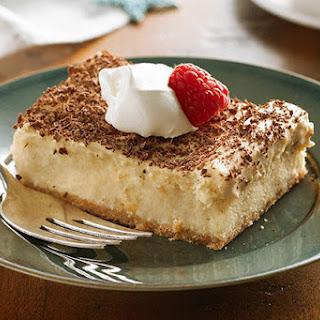 Tiramisu Mousse Cheesecake