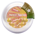 Hawaii flowers GO Keyboard icon