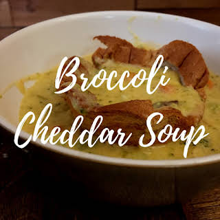 [30 Minute Meal] Instant Pot Broccoli Cheddar Soup.