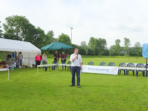 Photo: Opening door voorzitter Johan Vonk.