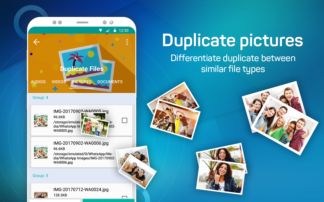 Duplicate Files Fixer- screenshot