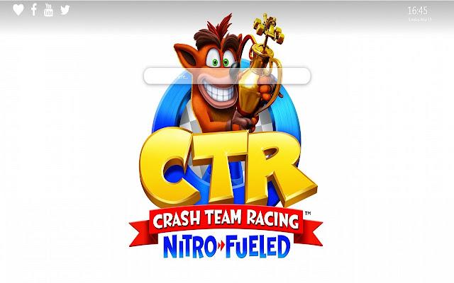 Crash Team Racing Theme for Google Chrome