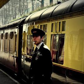 Whistleblower by Gordon Simpson - Transportation Trains