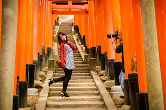 """Photo: This photo appeared in an article on my blog on Jun 23, 2013. この写真は6月23日ブログの記事に載りました。 """"Photoshoot with Yuko at the Fushimi Inari Shrine, Part 3"""" http://regex.info/blog/2013-06-23/2275"""