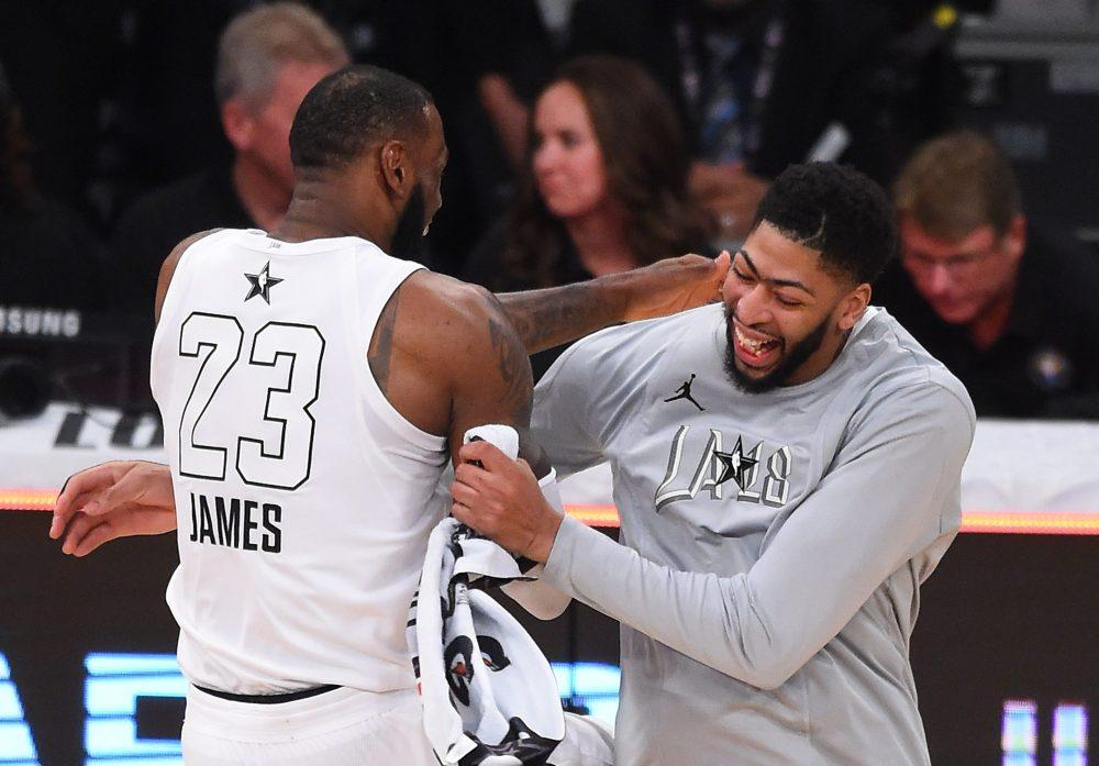 Image result for lebron james and anthony davis