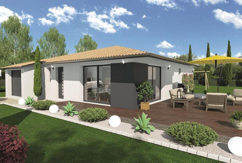 Vente Terrain + Maison - Terrain : 826m² - Maison : 93m² à Virazeil (47200)