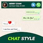 Chat Style - Stylish Font & Keyboard For WhatsApp