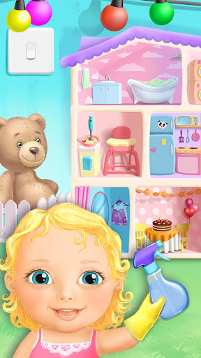 Sweet Baby Girl Doll House - Play, Care & Bed Time 2.0.22 APK MOD screenshots 1