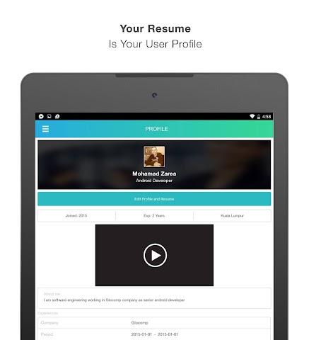 Screenshots for JobsCo