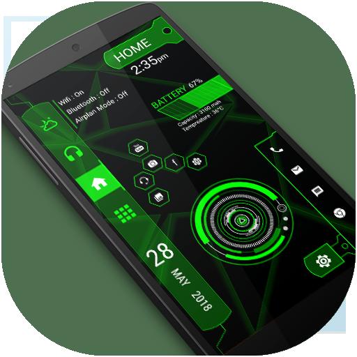 Strip hi-tech Launcher 2018 - hitech theme