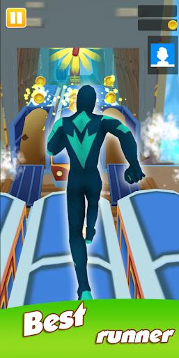 Super Heroes Run: Subway Runner 1.0.6 screenshots 4