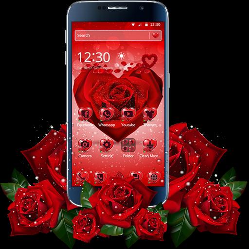 Red Rose Petal Theme