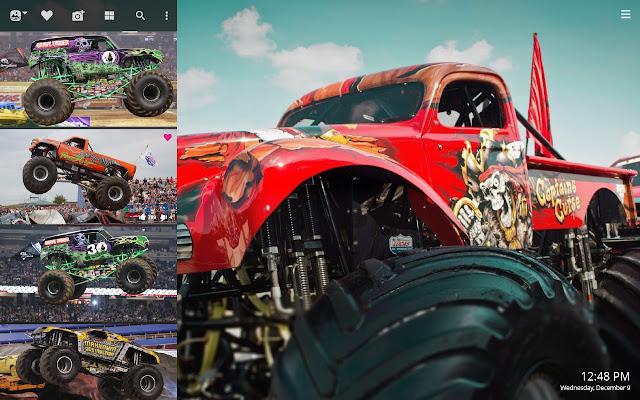 Monster Trucks HD Wallpapers New Tab Theme