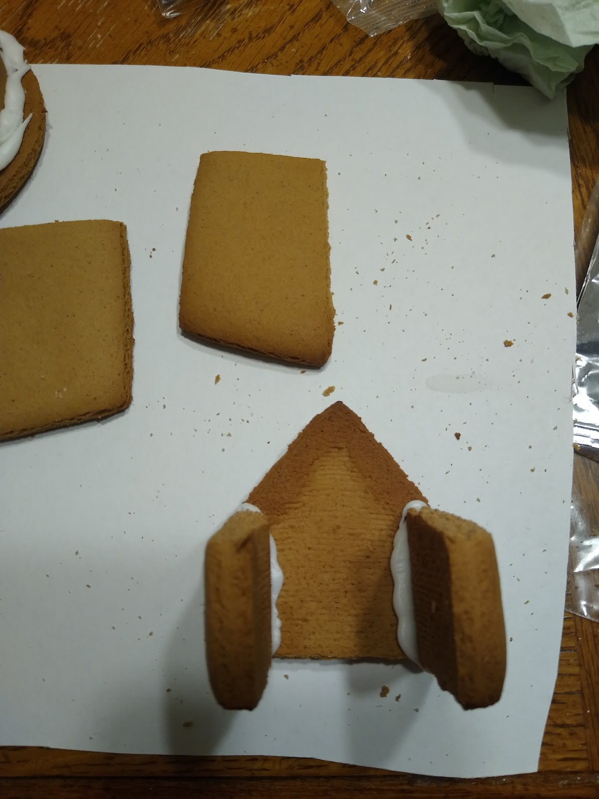 gingerbread lighthouse construction