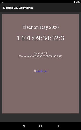 US Presidential Election Day 2020 Countdown Apk 2