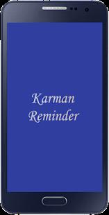 Karman Task Reminder - náhled