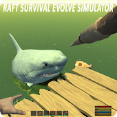 Raft Survival Evolve Simulator