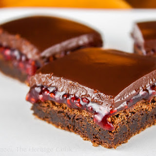 Chocolate-Raspberry Brownies