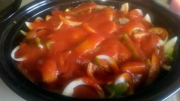 Italian Sausage With Peppers & Onions Recipe