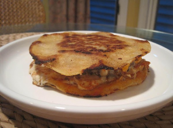 In large saute pan add a small amount of butter and oil. Place burger...