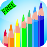 Toddlers Coloring Game Icon