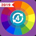 Spin wheel: Decision maker Random Number Generator icon