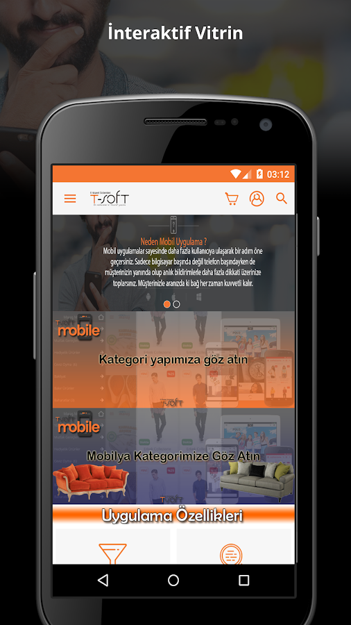 T-Soft Mobile- screenshot