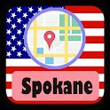 USA Spokane City Maps icon