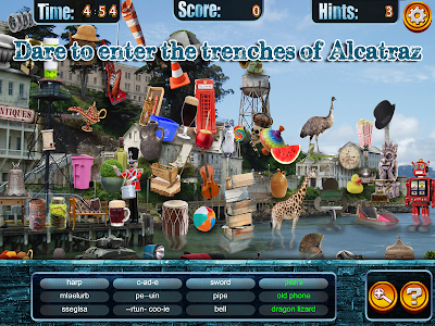 Hidden Objects Alcatraz Escape screenshot 9