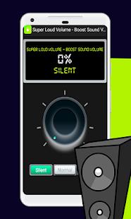 Super Loud Volume - Boost Sound Volume - náhled